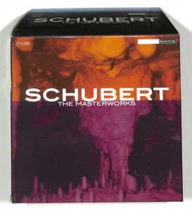 Schubert - The Masterworks 25 CD BOX EU 5-