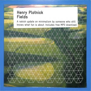 Henry Plotnick - Fields 2LP US MINT
