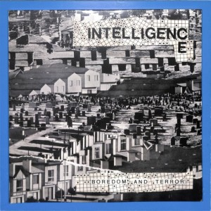 Intelligence - Boredom And Terror 2LP US MINT