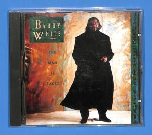 Barry White - The Man Is Back! EU (3+)