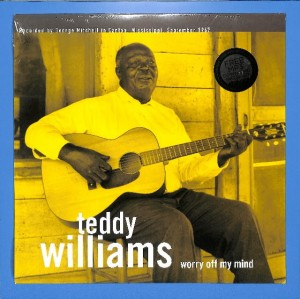 Teddy Williams - Worry Off My Mind US MINT