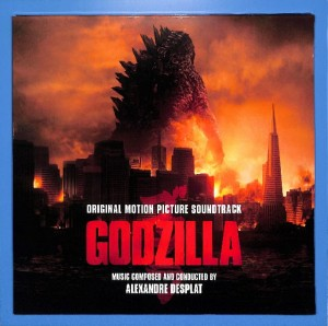 A. Desplat - Godzilla (Soundtrack) 2LP EU MINT