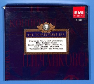 Tchaikovsky - The Tchaikovsky 5CD BOX EU 5-