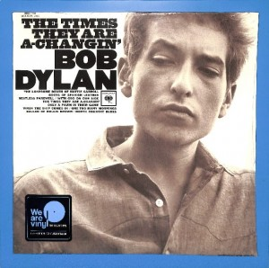 Bob Dylan - The Times They Are A-Changin' EU MINT