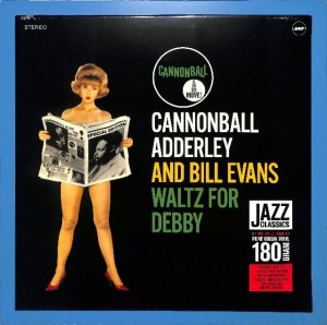 Cannonball Adderley - Waltz for Debby EU MINT