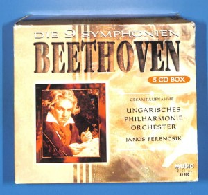 Beethoven - Die 9 Symphonien 5CD BOX EU 5-