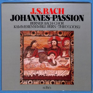 Bach - Johannes-Passion  3LP BOX EU VG+