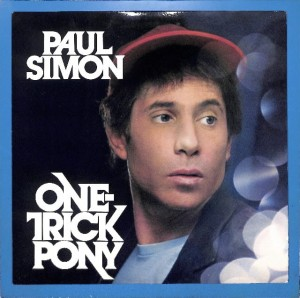 Paul Simon - One-Trick Pony US VG+