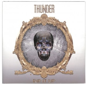 Thunder - Rip It Up  2LP EU VG+
