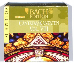 Bach - Cantatas Vol. VIII  5CD BOX EU NM