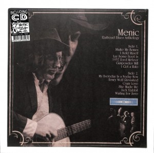 Menic - Railroad Blues Anthology LP+CD EU MINT