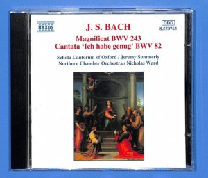 J. S. Bach - Schola Cantorum of Oxford EU NM