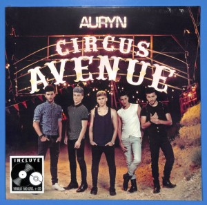 Auryn - Circus Avenue LP+CD EU MINT