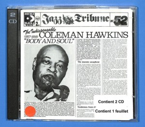 Coleman Hawkins - The Indispensable 2CD EU VG+