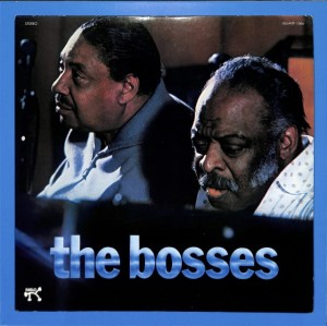 Count Basie Joe Turner - The Bosses JAPAN NM