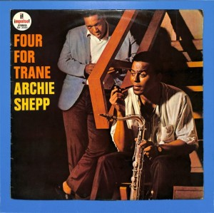 Archie Shepp - Four For Trane JAPAN EX