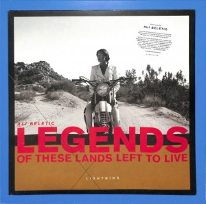 Ali Beletic - Legends Of These Lands Left US MINT