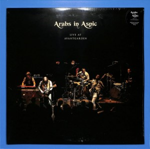 Arabs In Aspic - Live At Avantgarden 2LP EU MINT