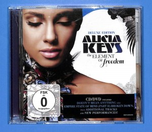 Alicia Keys - The Element Of Freedom CD+DVD EU NM
