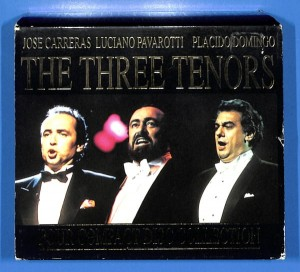 Carreras, Pavarotti, Domingo -  4CD BOX EU NM