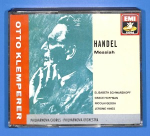 Handel - Messiah - Klemperer 3CD EU VG+