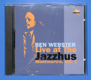 Ben Webster - Live At The Jazzhus  EU NM