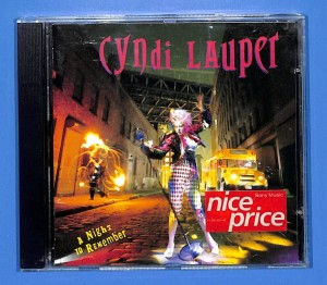 Cyndi Lauper - A Night To Remember EU NM