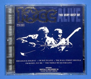 10cc - Alive - The Very Best Of EU EX
