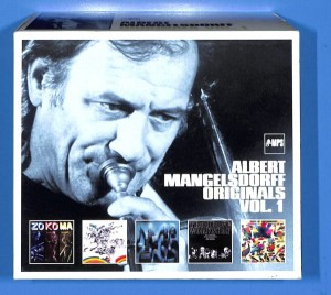 Albert Mangelsdorff - Originals 5CD BOX EU NM