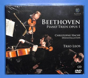 Beethoven - Piano Trios -Trio Leos  CD+DVD EU MINT