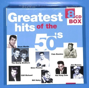 Various - Greatest Hits Of The 50's 8CD BOX EU NM