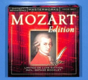 Mozart Edition - De Luxe Edition 10CD BOX EU 5-