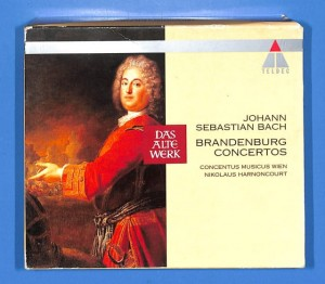 Bach - Brandenburg Concertos 2CD BOX EU VG+