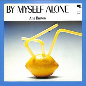 Ann Burton - By Myself Alone JAPAN EX