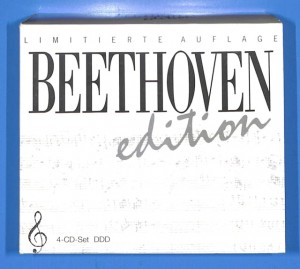 Beethoven Edition 4CD Box Set  EU 4