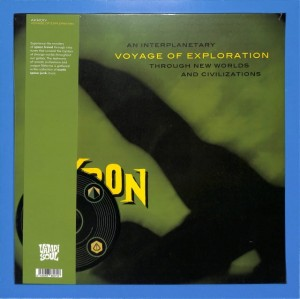 Akron - Voyage Of Exploration LP+CD EU MINT